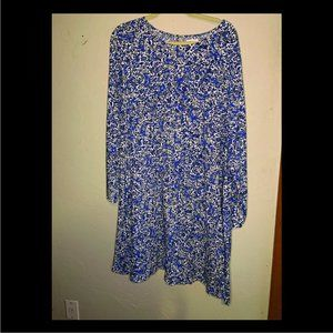Old Navy Long Sleeve Swing Dress XXL